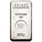 Gram Sized Silver Bars