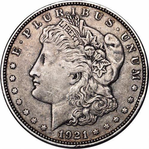 Buy 1921 Morgan Silver Dollars Vg Silver Com