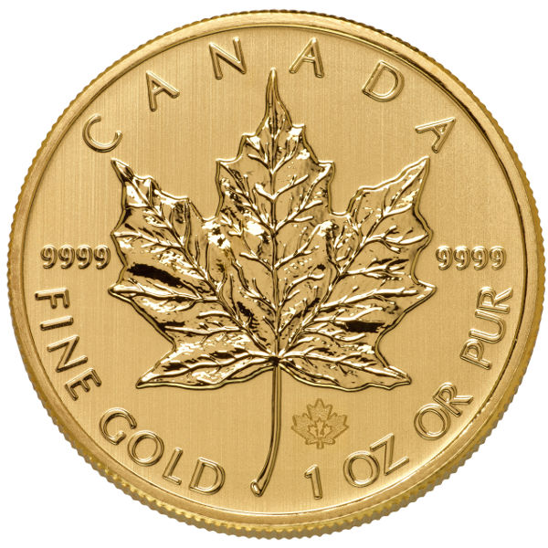 Buy 2014 1 Oz Gold Canadian Maple Leaf Coins Online