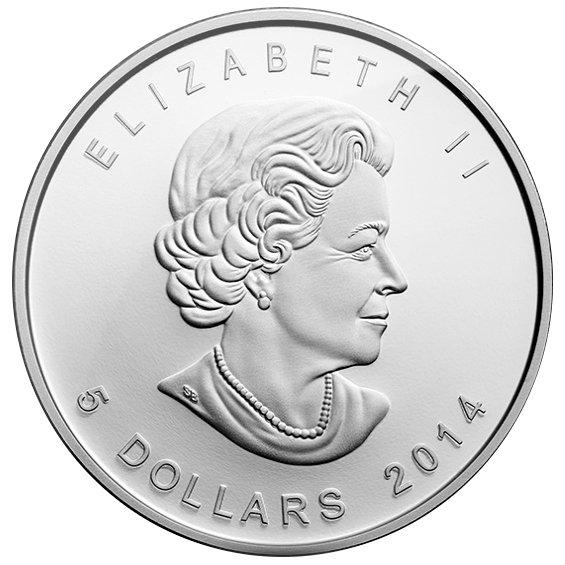 Buy 2014 1 Oz Silver 5 Canadian Arctic Fox Coins Silver Com